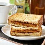 Grilled Marmite Cheese Sandwich