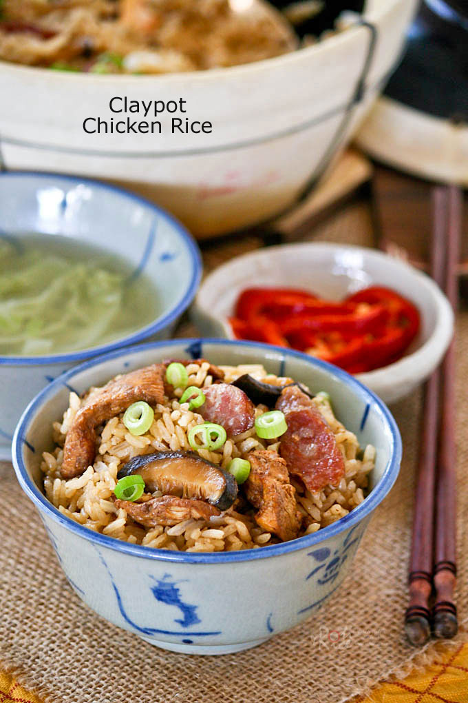 Claypot Chicken Rice is a delicious one-pot meal that can be easily ...