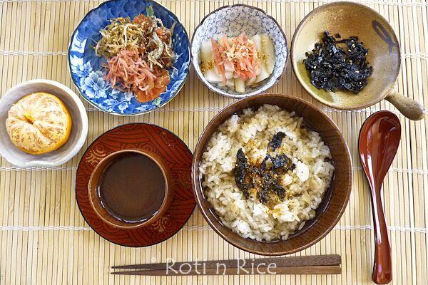 Ocha-zuke (Rice in Green Tea)