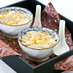 Sweet Barley and Ginkgo Nut Soup