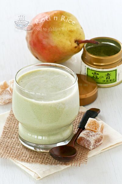 Crystallized Ginger Soy Smoothie
