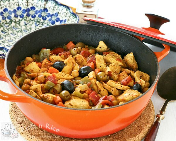 Spanish Style Chicken Stew