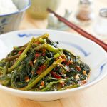 Stir Fry Spicy Water Spinach (Kangkung)