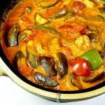Shrimp and Eggplant Curry