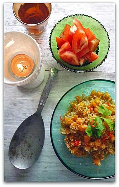 Pumpkin Cous Cous by Denise