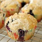 Orange Blueberry Streusel Muffins and Giveaway Winner