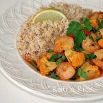 Shrimp and Chickpeas Brown Rice Couscous