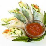 Vietnamese Style Spring Rolls