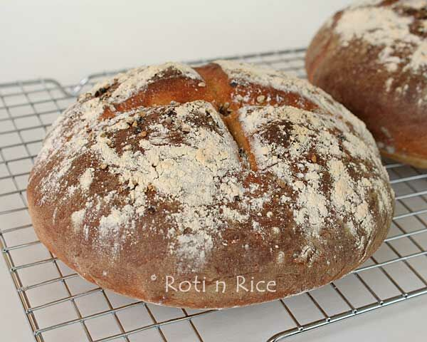 Black Pepper and Marmite Boule