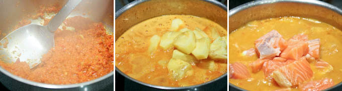 Pineapple Curry with Salmon-6
