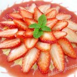Strawberry Sunburst with Almond Cream from Anncoo Journal