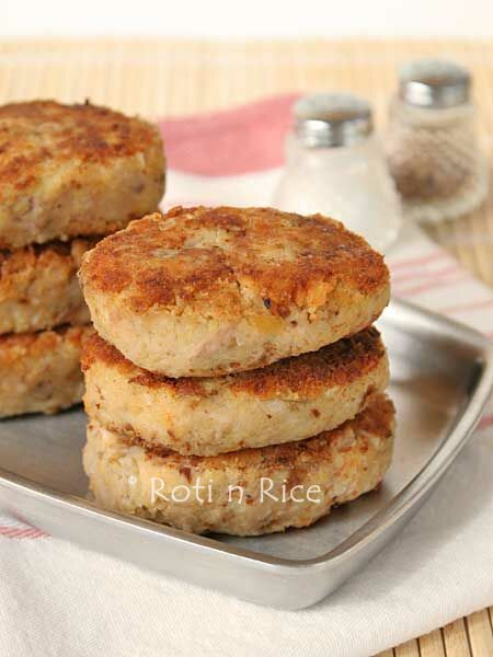 Chickpea and Tuna Patties