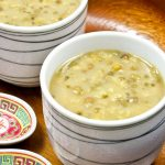 Sweet Mung Bean and Sago Soup
