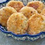 Pan Fried Salmon Rice Cakes