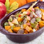 Roasted Apples, Squash, and Sausage