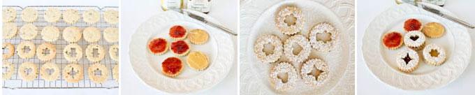 Lavender Linzer Cookies-3
