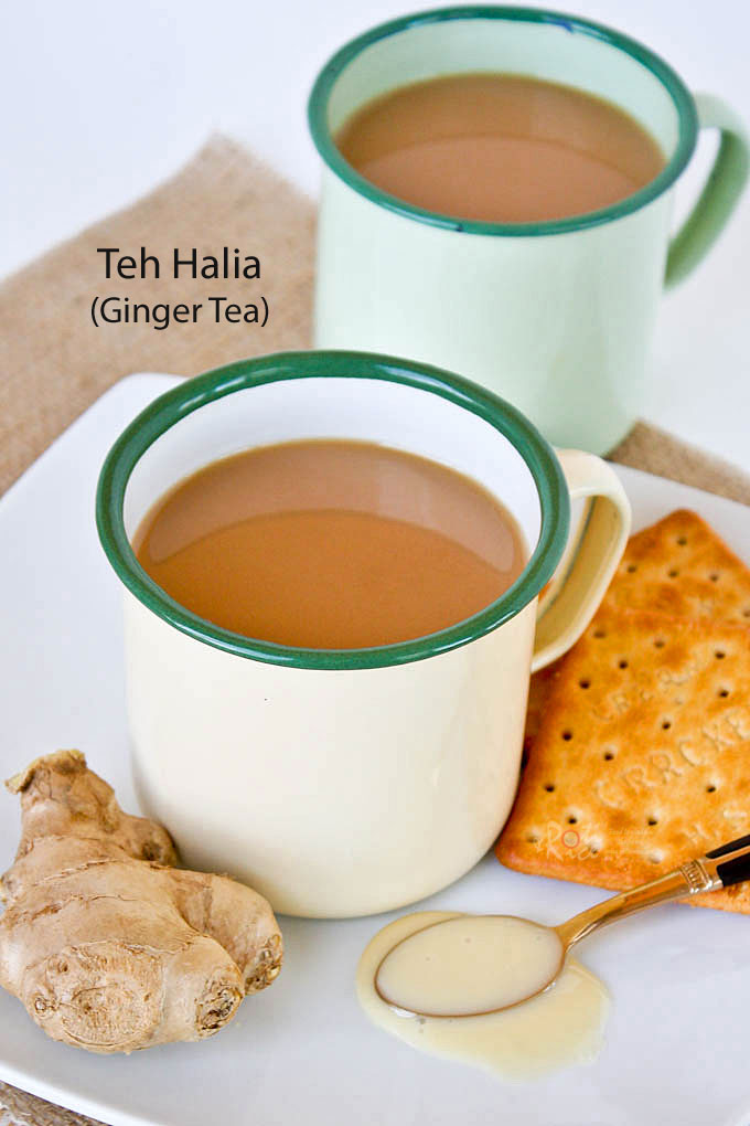 Teh Halia (Ginger Tea)