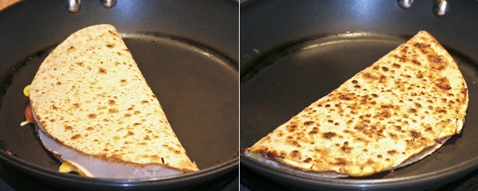 Gluten-Free Ham and Cheese Breakfast Quesadillas_2