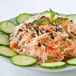 Kerabu Tang Hoon (Spicy Glass Vermicelli Salad)