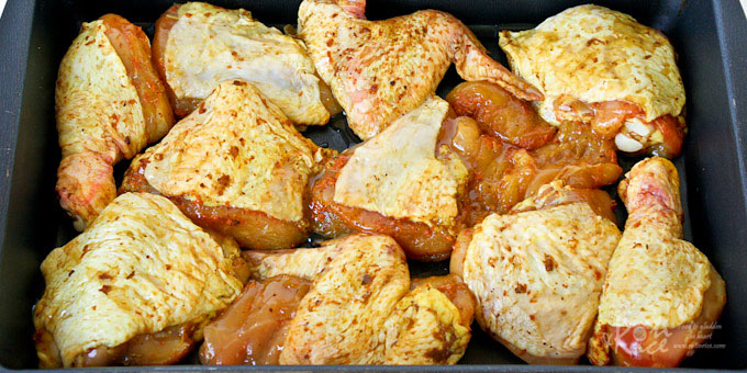 Ayam Panggang Kunyit (Grilled Turmeric Chicken)-9