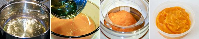 Cantaloupe and Mango Sorbet-6