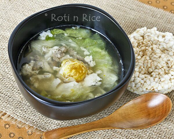 Salted Egg Drop Soup