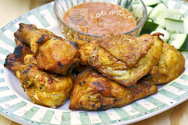 Ayam Panggang Kunyit (Grilled Turmeric Chicken)