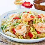 Soybean Sprouts and Shrimp Stir-fry