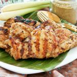 Grilled Masala and Lemongrass Chicken