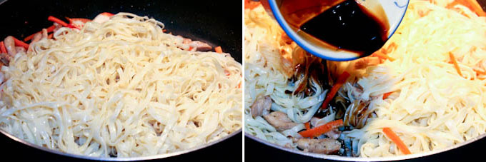 Stir Fried Noodles with Chicken and Crabsticks-10