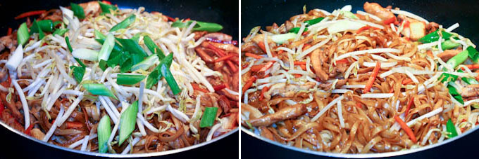 Stir Fried Noodles with Chicken and Crabsticks-11