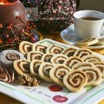 Persimmon and Walnut Pinwheel Cookies and Pass the Plate