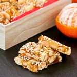 Fah Sung Thong (Peanut and Sesame Brittle)