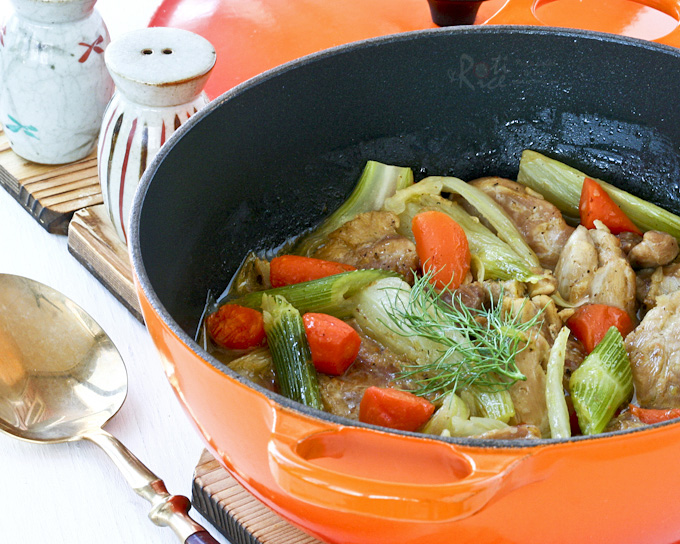 Chicken and Fennel Stew