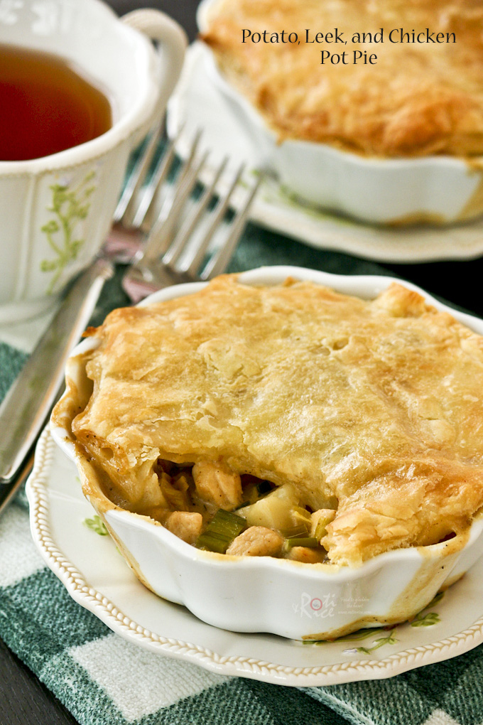 Potato, Leek, and Chicken Pot Pie