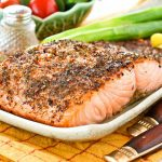Lemon Pepper Dill Salmon
