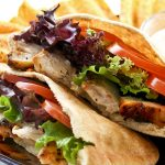 Grilled Chicken Pita Pockets