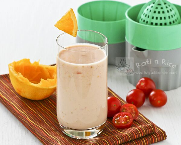 Orange Tomato Smoothie