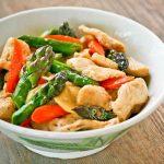 Chicken Asparagus Stir Fry