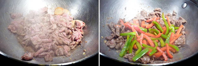 Black Pepper Beef Stir Fry-6