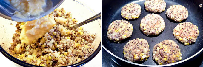 Spiced Quinoa Corn Patties-6