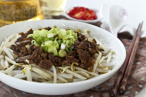 Rice Pin Noodles with Radish Minced Pork