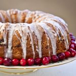 Not sure what to do with leftover Thanksgiving cranberry sauce? Use it to make this easy, moist, and delicious Cranberry Sauce Bundt Cake. | Food to gladden the heart at RotiNRice.com