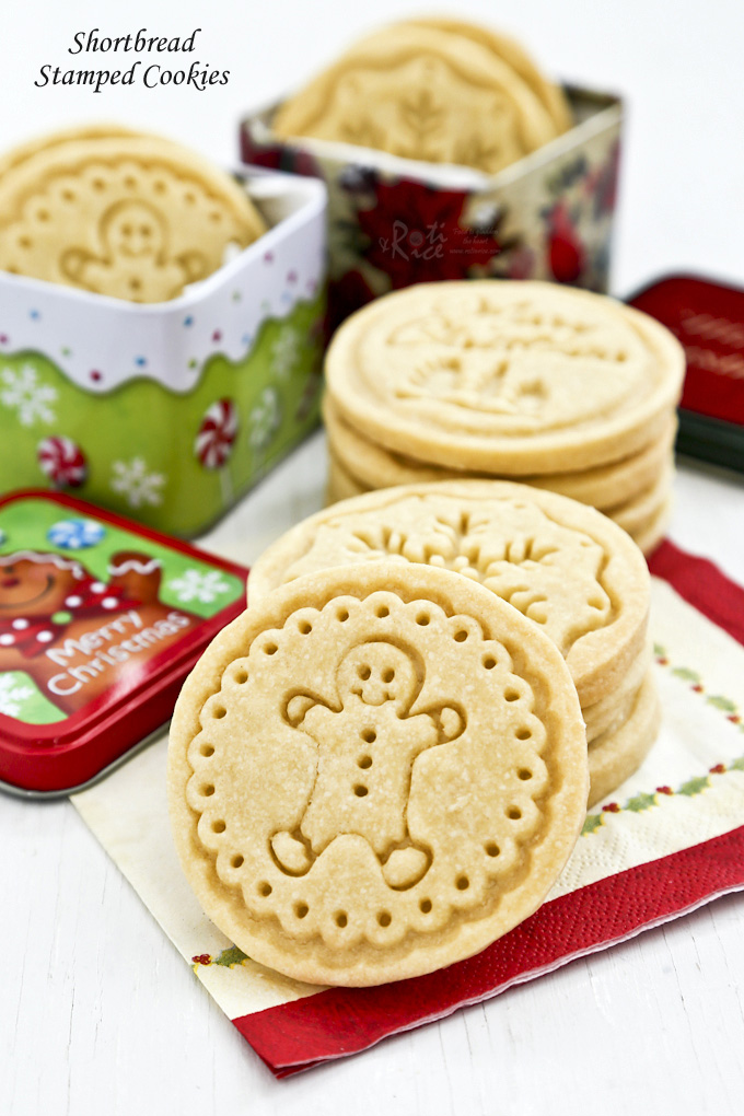 Shortbread Stamped Cookies