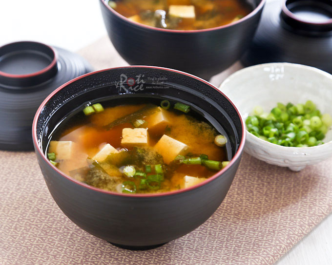 miso soup is my go to soup as it takes