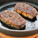 Pan Roasted Pork Loin Chops