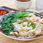 Chicken Rice Flake Noodle Soup