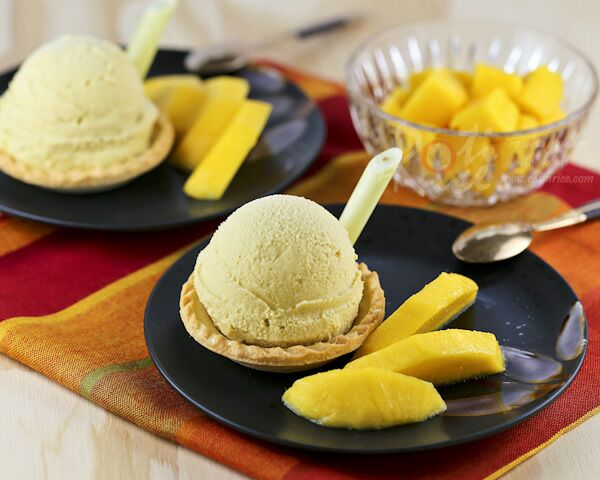 Mango Lemongrass Ice Cream