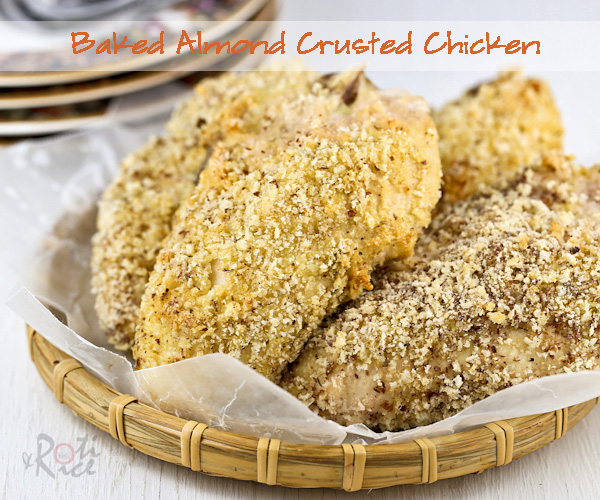 Baked Almond Crusted Chicken