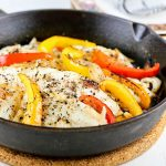 Broiled Cracked Pepper Cod